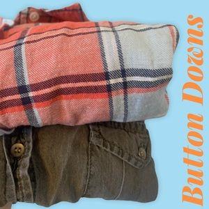 2/$18 Button Down Shirts / Bundle of 2